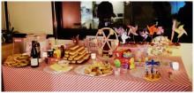 Buffet fête foraine