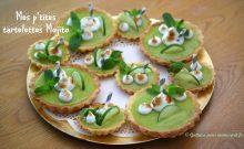 Recette tartelette mojito citron vert menthe rhum
