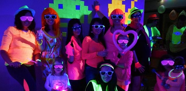 Soirée d'anniversaire Fluo Party diy tuto