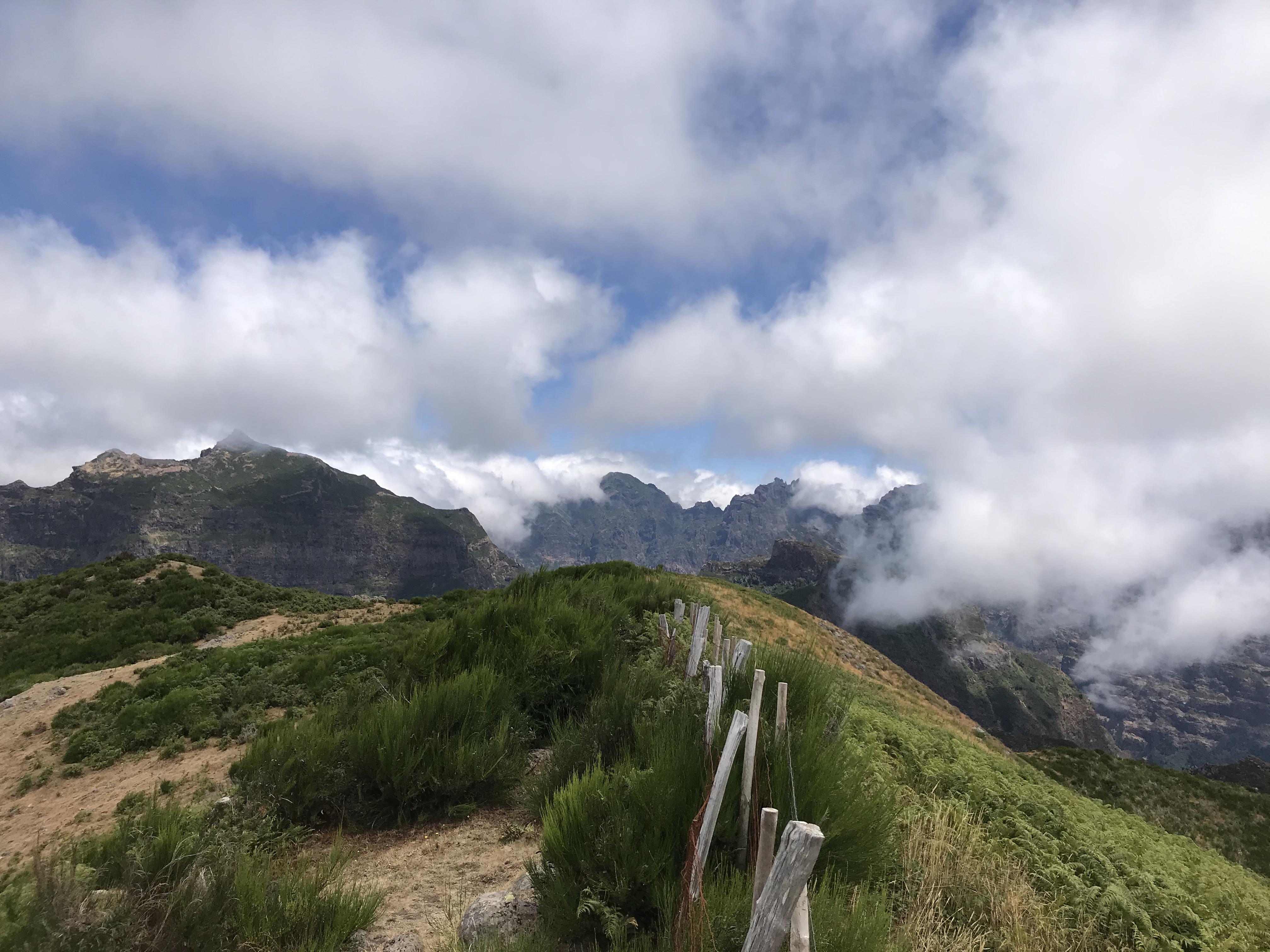 Depuis le point culminant du massif Dos Terreiros